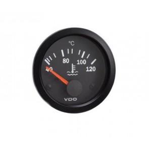 VDO Water Temperature Gauge, 52mm